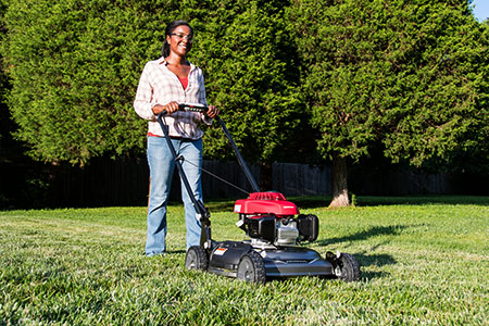 honda power equipment hrs series lawn mowers