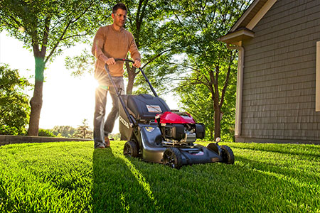honda power equipment hrx series lawn mowers