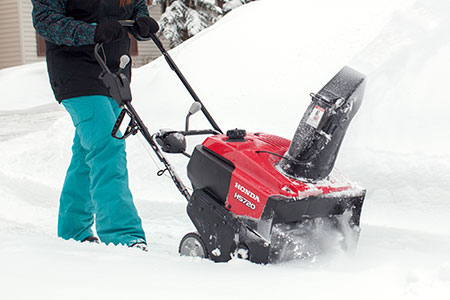 honda power equipment single stage snowthrowers