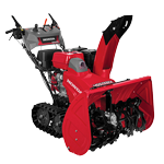 honda snowblowers double