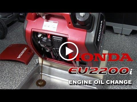 EU2200i Oil Change