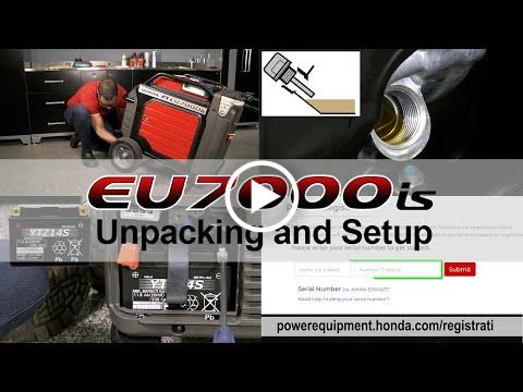 EU7000is Unpacking and Set Up