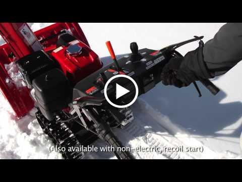 Honda HSS1332AT and HSS1332ATD Snow Blowers Overview