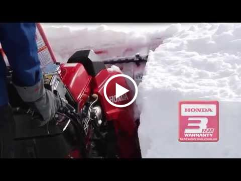 Honda HSS928AT and HSS928ATD Snow Blowers Overview