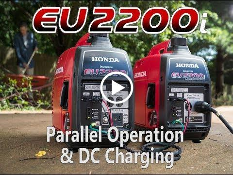EU2200i Parallel Operation and Dc Charging