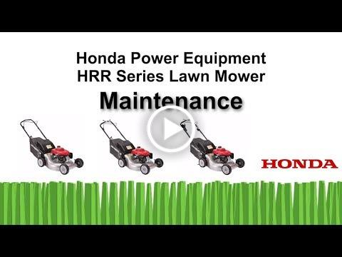 HRR Mowers Maintenance
