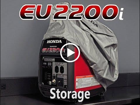 EU2200i Storage Tips