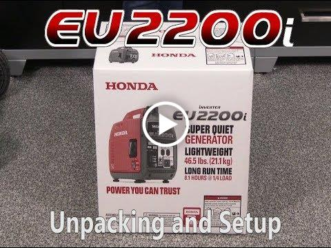 EU2200i Unpacking and Set Up