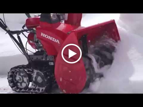 Honda HSS724AT and HSS724ATD Snow Blowers Overview