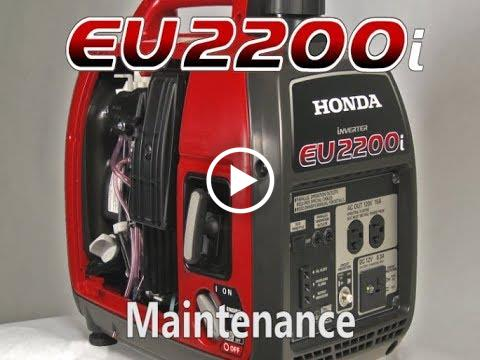 EU2200i Maintenance